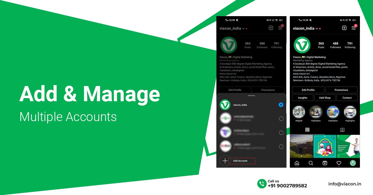 Smart Instagram Hack Add And Manage Multiple Accounts